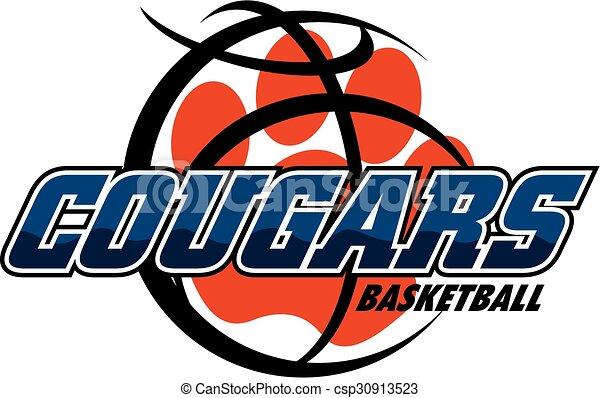 cougars basketball - csp30913523
