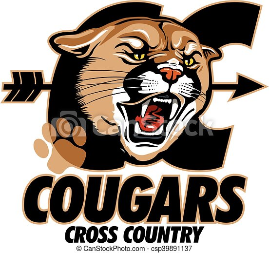 cougars cross country - csp39891137