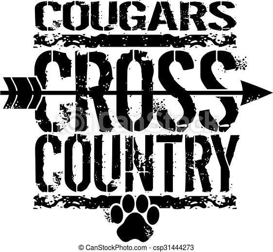 cougars cross country - csp31444273