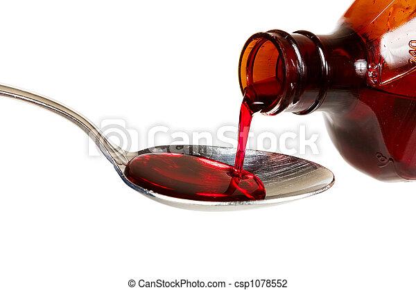 Cough syrup - csp1078552