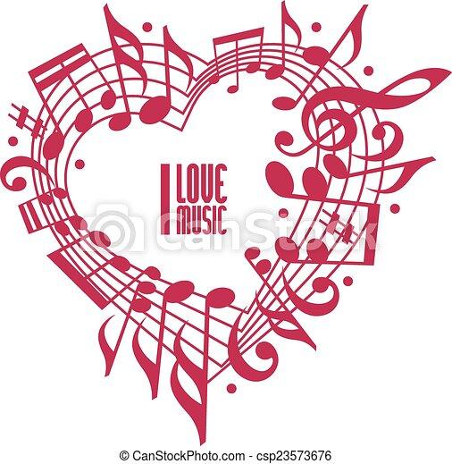 Couleur Amour Concept Unique Musique Design