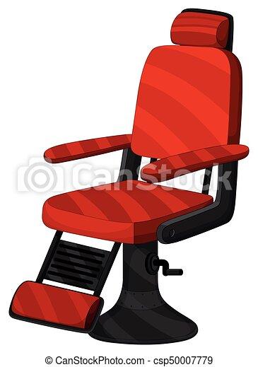Couleur Chaise Coiffeur Rouges
