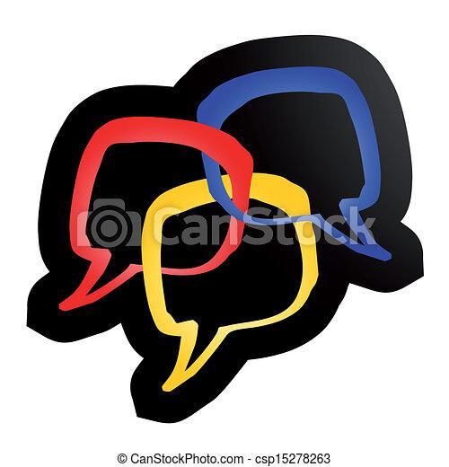 couleur, comique - csp15278263