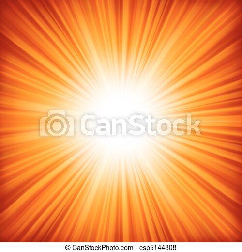 couleur, -, eps, burst., conception, orange, 8, rouges - csp5144808