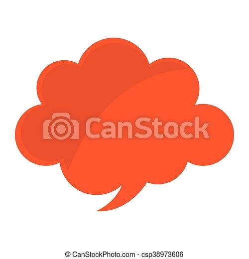 couleur, parole, message, bulle, icône - csp38973606