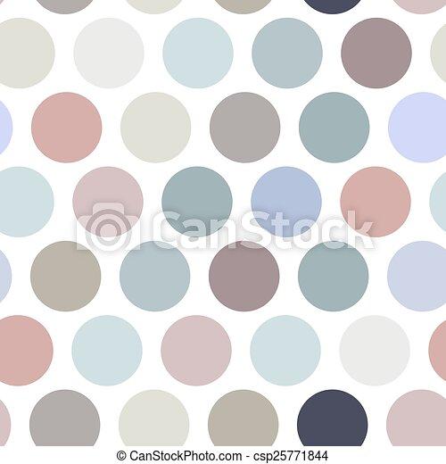 couleur pastel pattern polka seamless arri re plan vecteur point fond blanc couleur. Black Bedroom Furniture Sets. Home Design Ideas