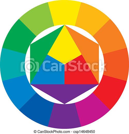 couleur, roue - csp14648450