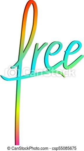 couleur, symbole, message, gratuite - csp55085675