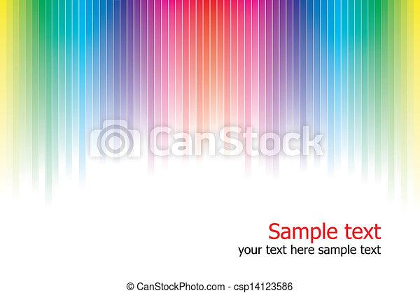 couleurs arc-en-ciel, fond, résumé - csp14123586