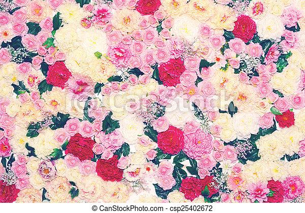 couleurs pastel, fond, fleurs, doux
