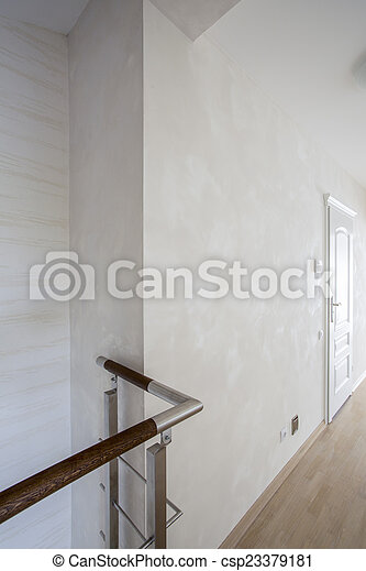 couloir, appartement, luxe