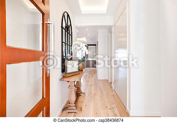 Couloir Entree Maison Par Luxe Inclure Meubles