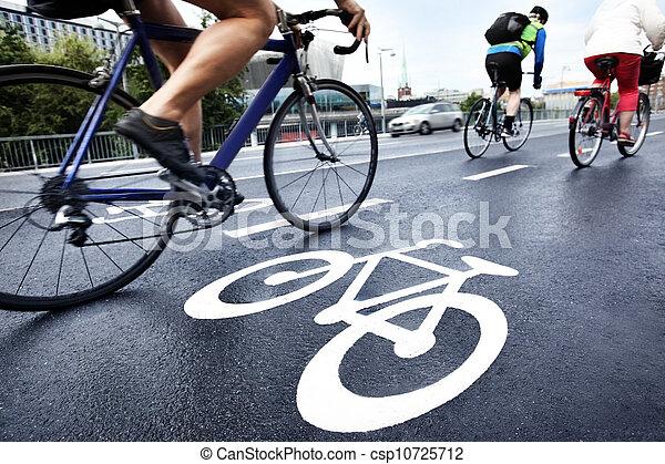 couloir, vélo - csp10725712