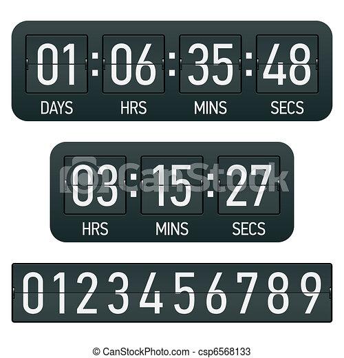 Countdown timer - csp6568133