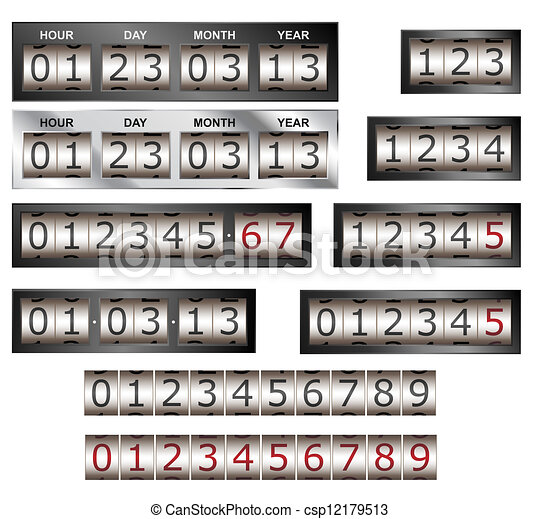 Counters - csp12179513