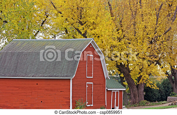 country barn - csp0859951