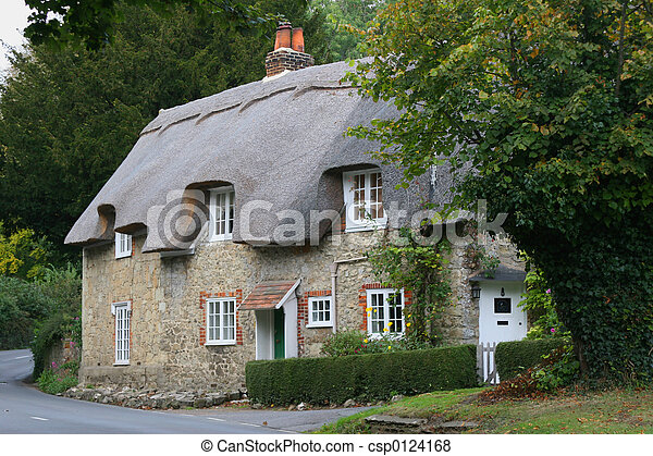 Country cottage - csp0124168
