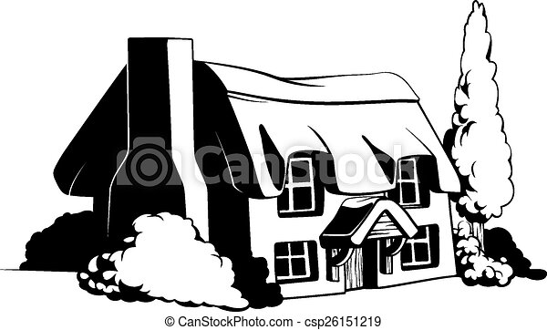 Country cottage - csp26151219