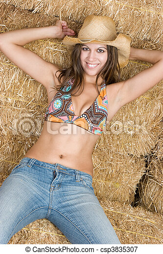 Country Girl - csp3835307