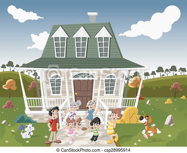 Country House With Family