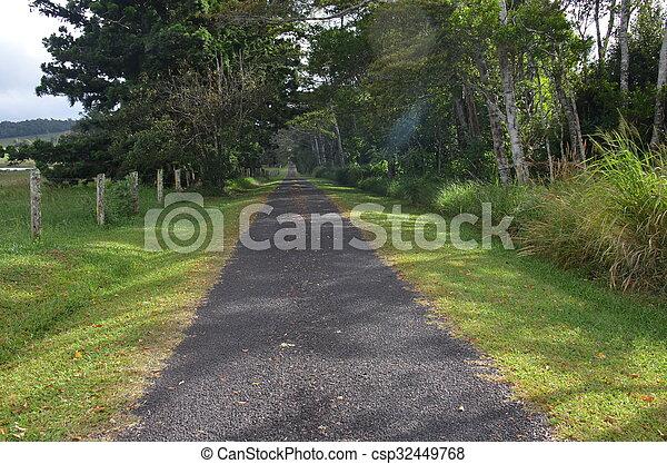 country lane - csp32449768