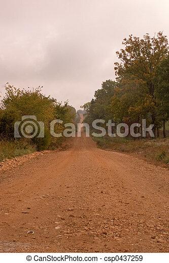 Country lane - csp0437259