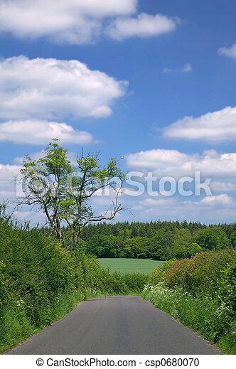 Country Lane - csp0680070