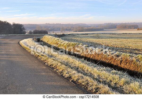 country lane - csp17214508