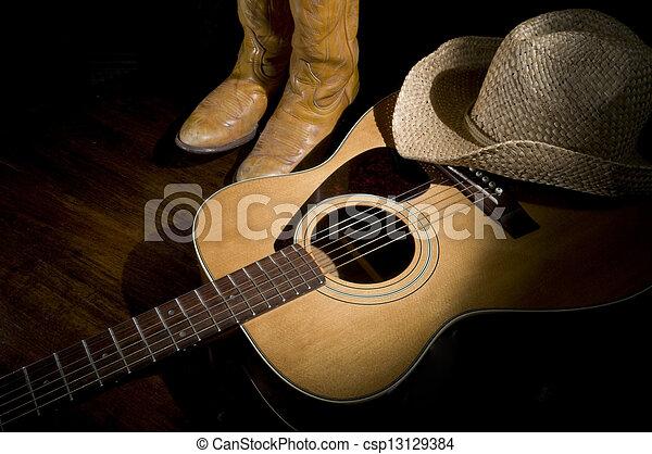 Country Music Spotlight - csp13129384