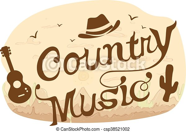 country music typography typography illustration featuring rh canstockphoto com country music clipart graphics country music clipart graphics