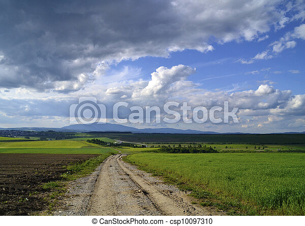 country road - csp10097310