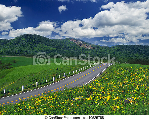 Country road - csp10525788
