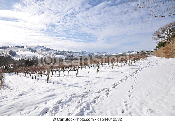 country with snow - csp44012532
