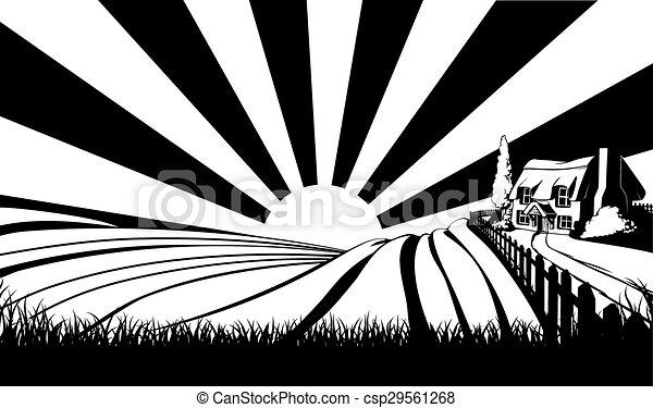 Countryside concept - csp29561268
