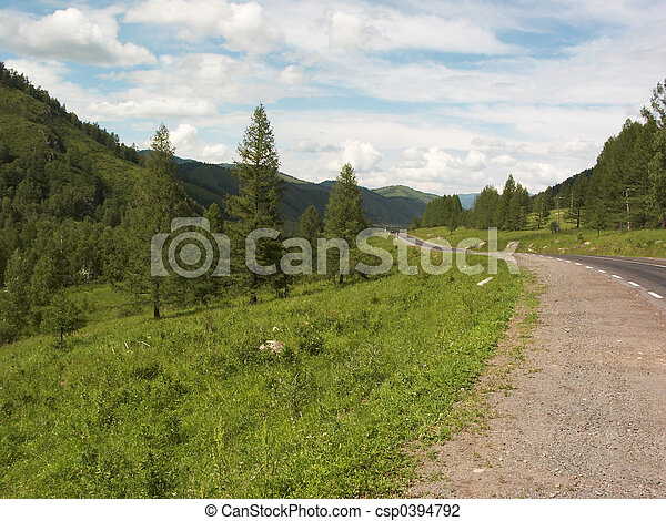 Countryside road - csp0394792
