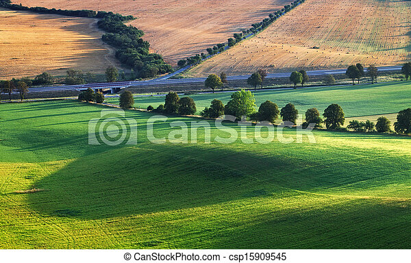Countryside rural landscape - csp15909545