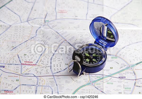 coup, compas - csp1420246