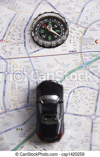 coup, compas - csp1420259