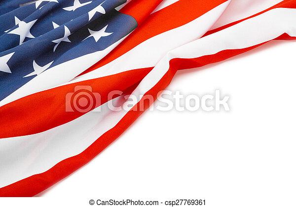 coup, usa, texte, -, drapeau, endroit, studio, ton - csp27769361