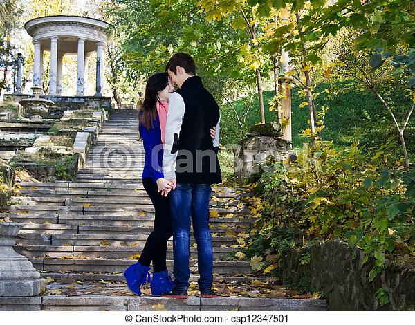 couple, amour - csp12347501