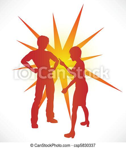 Couple Arguing - csp5830337