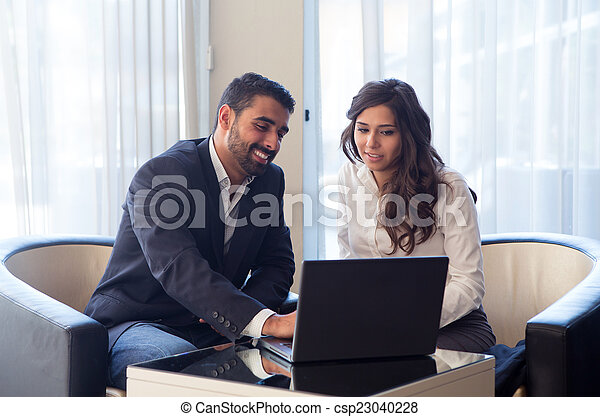 couple, business - csp23040228
