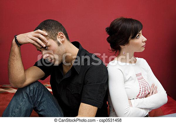 couple crisis - csp0531458