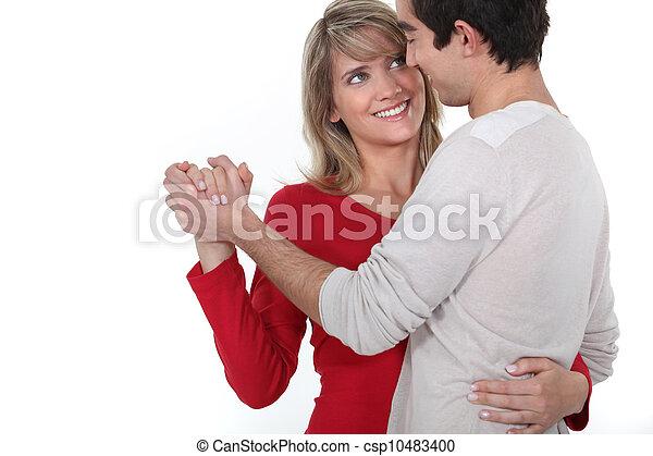 couple dancing - csp10483400