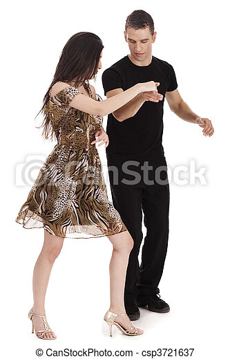 couple  Dancing together - csp3721637