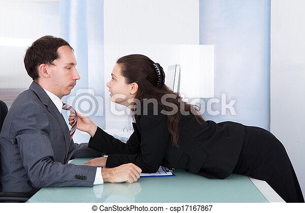 Business flirten