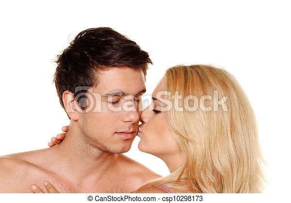 couple has fun. - csp10298173