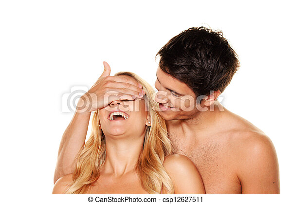 couple has fun. - csp12627511