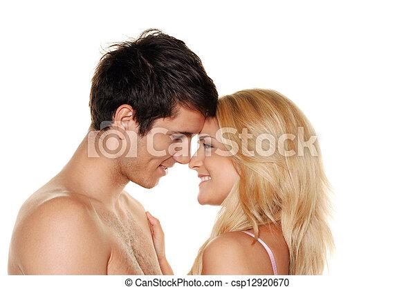 couple has fun. - csp12920670