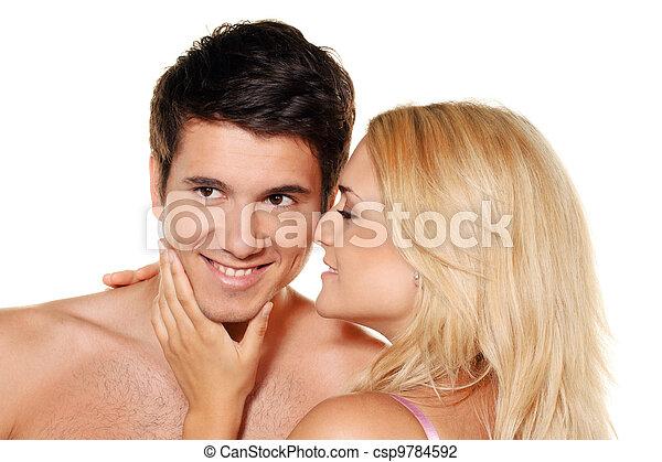 couple has fun. - csp9784592